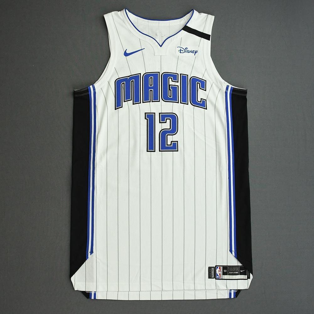 Gary Clark - Orlando Magic - Game-Worn Association Edition Jersey - 2019-20 NBA Season Restart with Social Justice Message