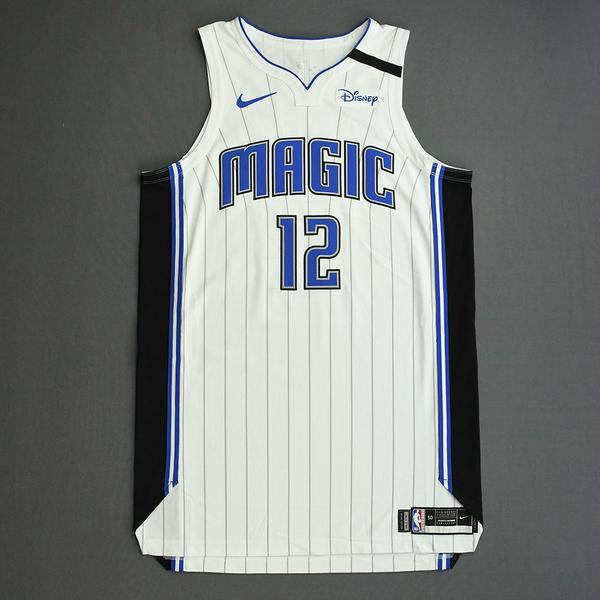 Image of Gary Clark - Orlando Magic - Game-Worn Association Edition Jersey - 2019-20 NBA Season Restart with Social Justice Message