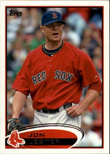 Photo of 2012 Topps #10 Jon Lester