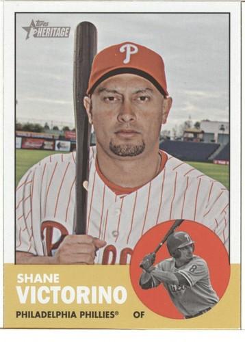 Photo of 2012 Topps Heritage #434 Shane Victorino SP