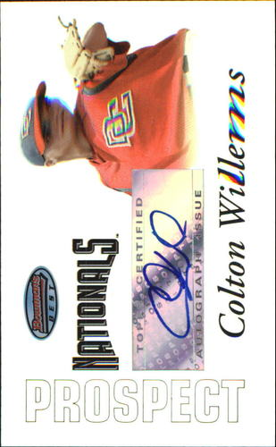 Photo of 2007 Bowman's Best Prospects #BBP50 Colton Willems AU
