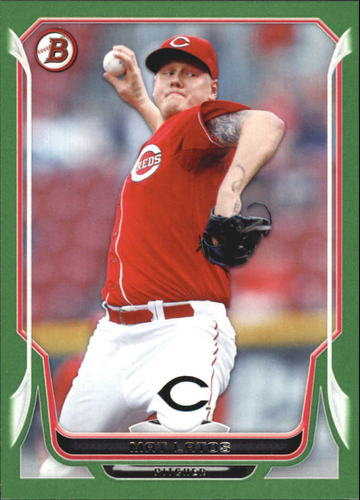 Photo of 2014 Bowman Green #57 Mat Latos