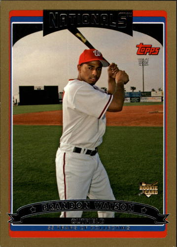 Photo of 2006 Topps Gold #324 Brandon Watson