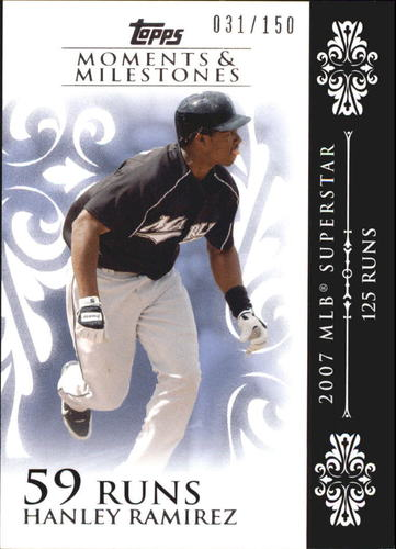 Photo of 2008 Topps Moments and Milestones #92-59 Hanley Ramirez
