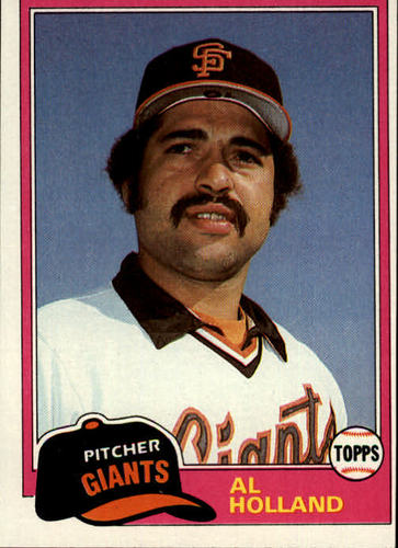 Photo of 1981 Topps #213 Al Holland RC