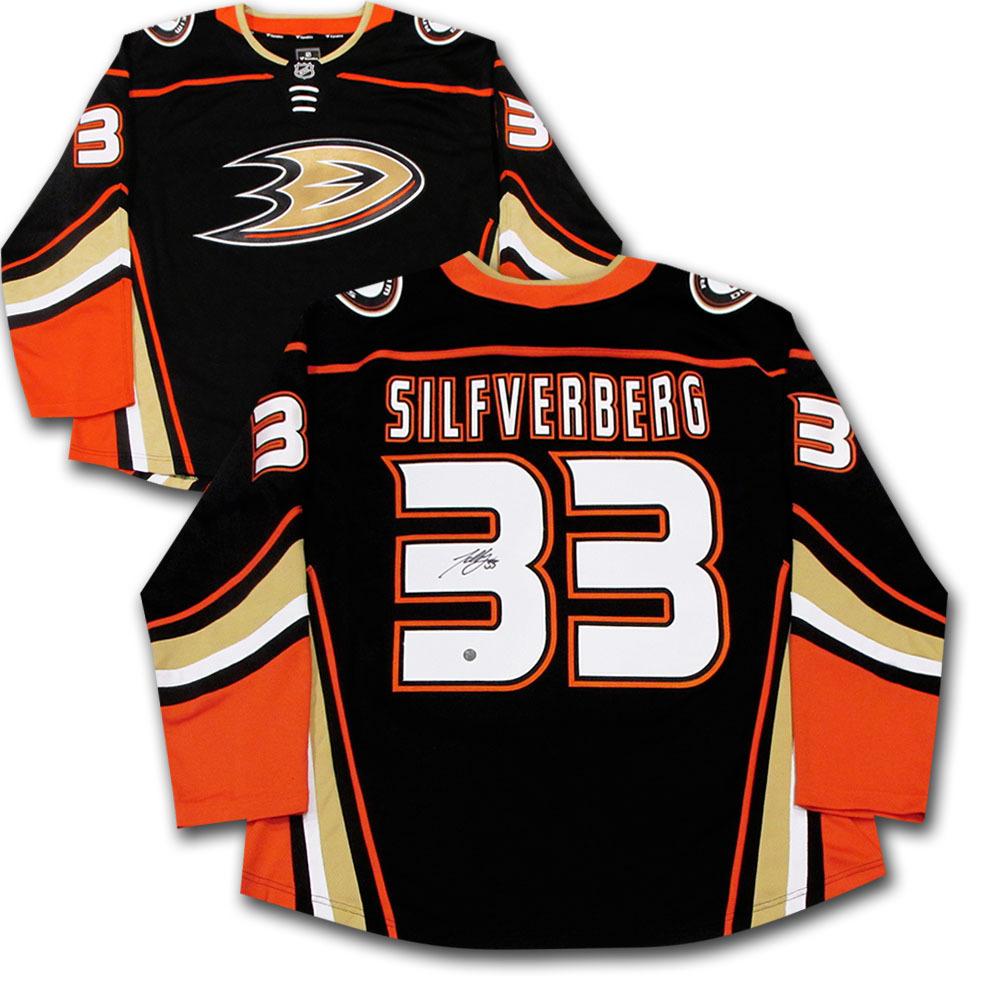 Jakub Silfverberg Autographed Anaheim Ducks Fanatics Jersey