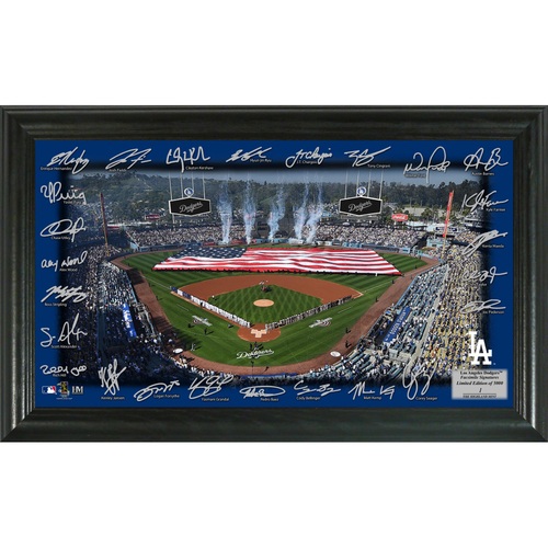 Photo of Serial #1! Los Angeles Dodgers 2018 Signature Field