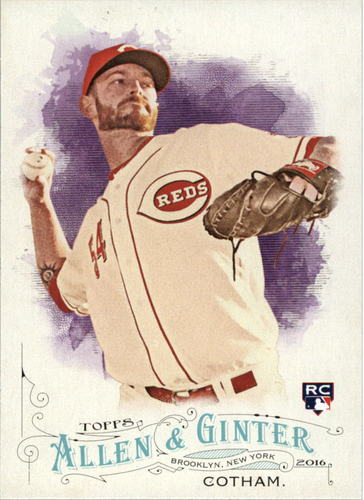 Photo of 2016 Topps Allen and Ginter #140 Caleb Cotham RC