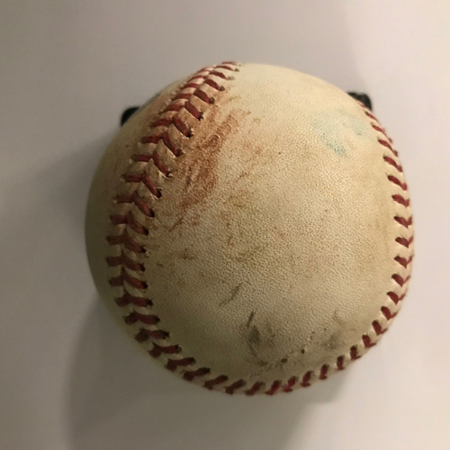 Photo of Freddie Freeman Game-Used Hit Double RBI Baseball - 9/1/2018
