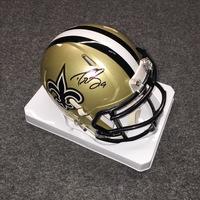 11711dd46 NFL - Saints Drew Brees signed Saints mini helmet