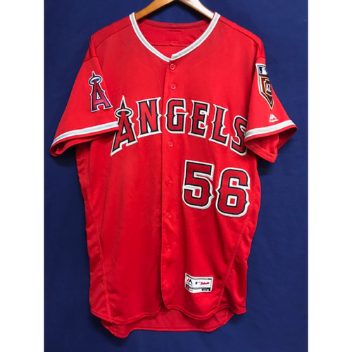 Photo of Kole Calhoun Game-Used 2018 Spring Training Jersey from the Freeway Series