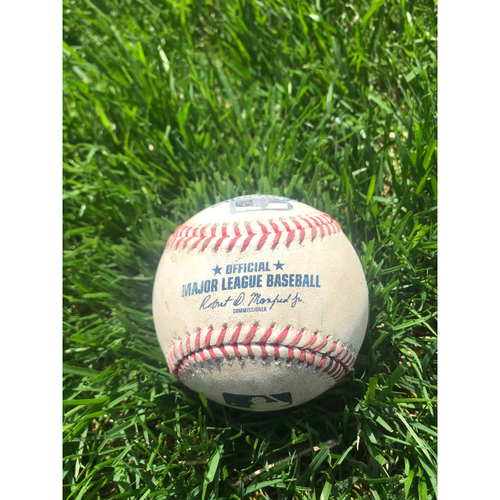 Photo of Cardinals Authentics: Game Used Baseball Pitched by Bryan Shaw to Jose Martinez and Yairo Munoz *Martinez Strikeout, Munoz Foul*