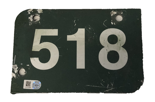 Photo of Wrigley Field Collection -- Aisle Marker 518 -- Removed after 2018 Season