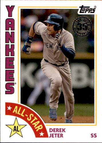 Photo of 2019 Topps '84 Topps All Stars #84ASDJ Derek Jeter