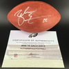 Eagles - Zach Ertz Signed Authentic Football