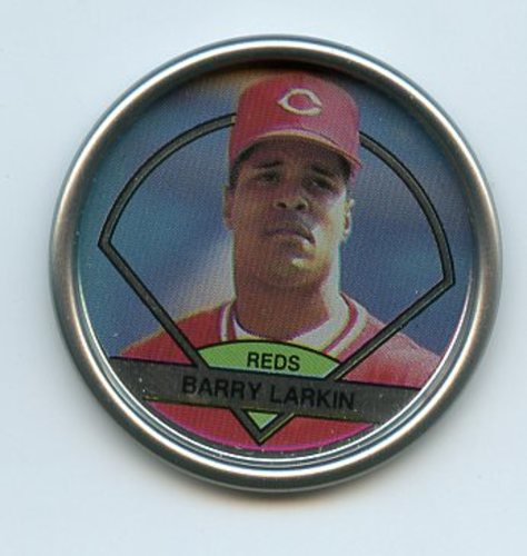 Photo of 1990 Topps Coins #51 Barry Larkin