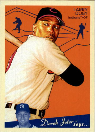 Photo of 2008 Upper Deck Goudey #55 Larry Doby