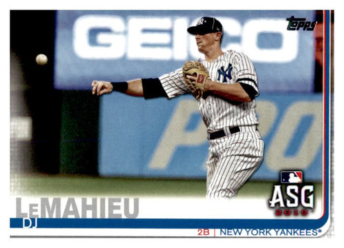 Photo of 2019 Topps Update #US117 DJ LeMahieu AS