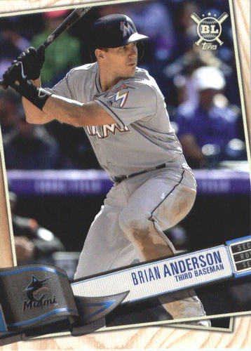 Photo of 2019 Topps Big League #317 Brian Anderson