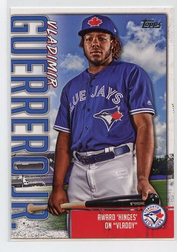 Photo of 2020 Topps Vladimir Guerrero Jr. Highlights #VGJ1 Vladimir Guerrero Jr.