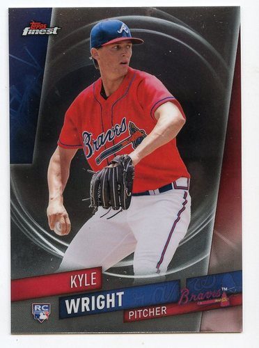 Photo of 2019 Finest #87 Kyle Wright RC