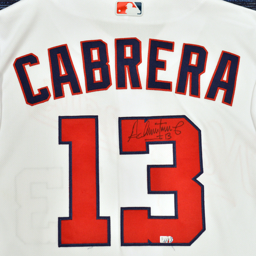 Photo of Washington Nationals Philanthropies Jerseys Off Their Back Auction - Asdrubal Cabrera - Autographed Game-Used Jersey - Size 48C