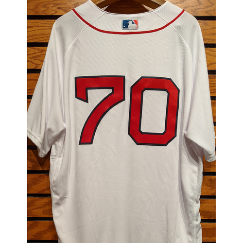 Photo of Ryan Brasier #70 Team Issued Home White Jersey