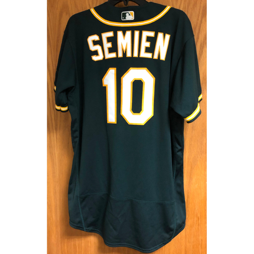 Photo of Game-Used 2020 Jersey - Marcus Semien