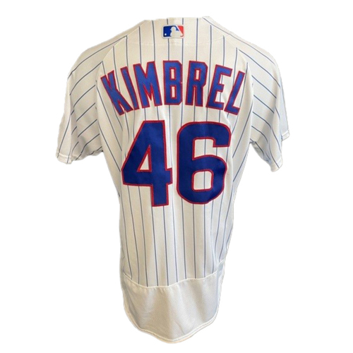 Photo of Craig Kimbrel Game-Used Jersey -- Padres vs. Cubs -- 6/2/21 -- Features ALS Patch -- Size 44C