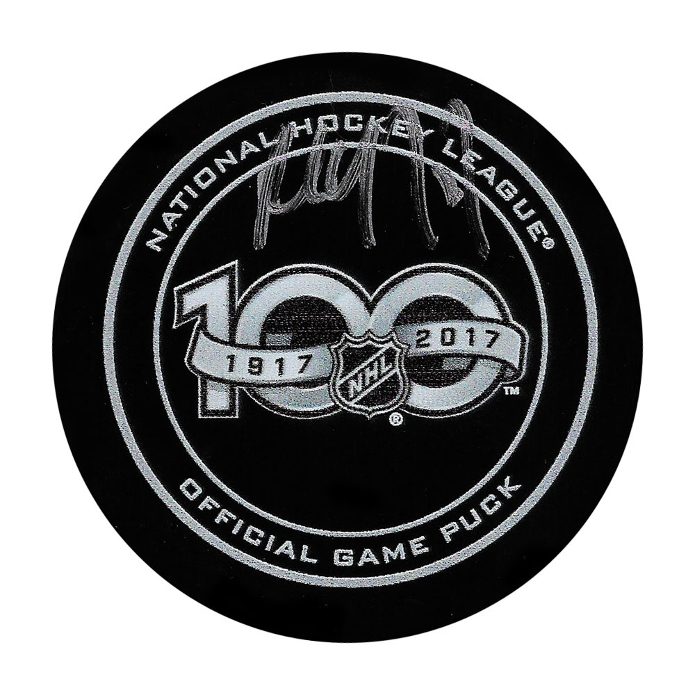 Paul Coffey Autographed NHL 100 Official Game Puck