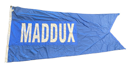 Photo of Wrigley Field Collection -- Rooftop Flag --  Greg Maddux