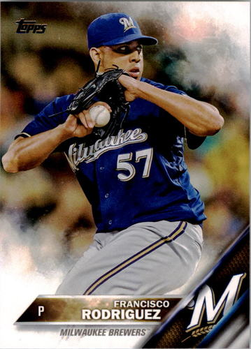 Photo of 2016 Topps #18 Francisco Rodriguez