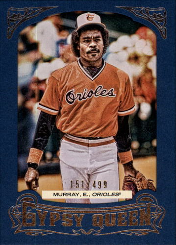 Photo of 2014 Topps Gypsy Queen Framed Blue #295 Eddie Murray
