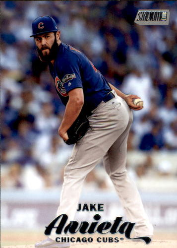 Photo of 2017 Stadium Club #223A Jake Arrieta