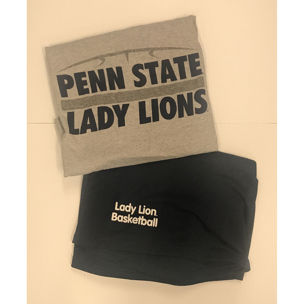 Photo of Lady Lion Basketball Package 1- T-Shirt and Shorts Combo