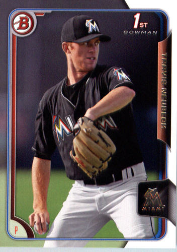 Photo of 2015 Bowman Draft #78 Travis Neubeck