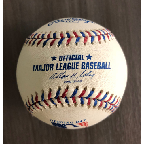 Photo of Opening Day 2002 Baseball - Not MLB Authenticated
