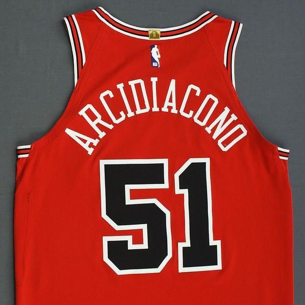 Chicago Bulls #51 Ryan Arcidiacono NEWCity Edition Swingman Jersey