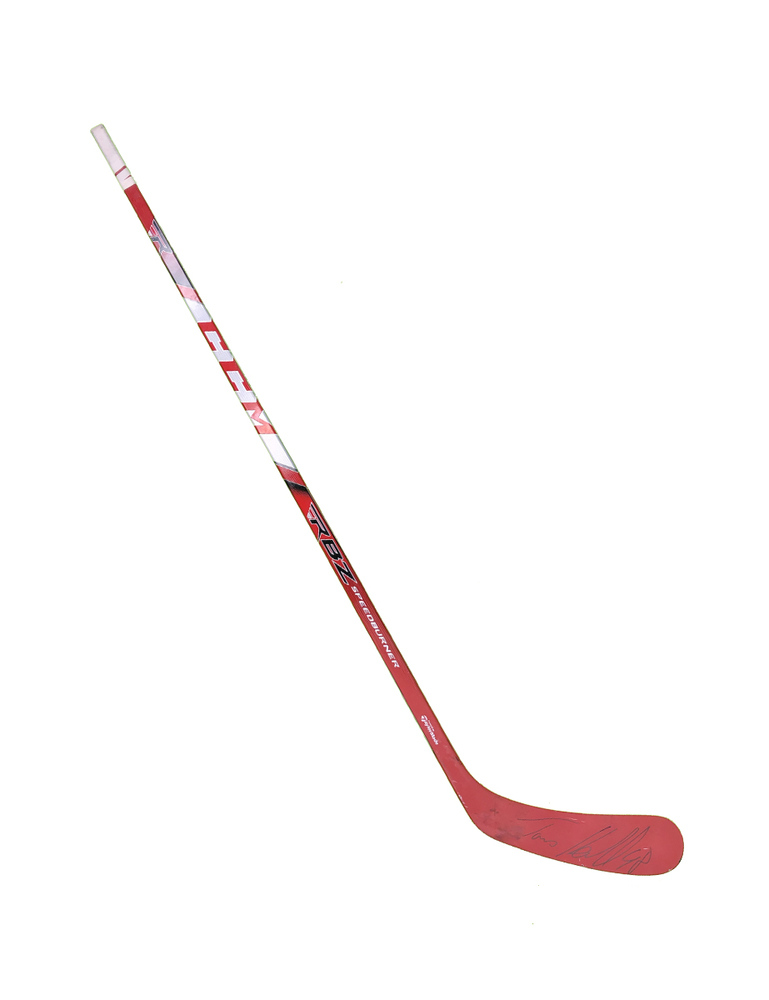 #48 Tomas Hertl Game Used Stick - Autographed - San Jose Sharks