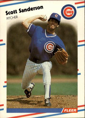 Photo of 1988 Fleer #432 Scott Sanderson
