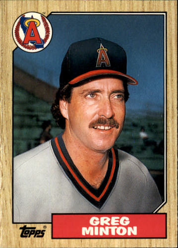 Photo of 1987 Topps Traded #79T Greg Minton