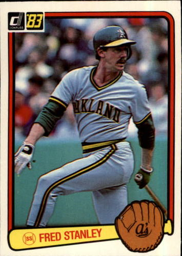 Photo of 1983 Donruss #197 Fred Stanley