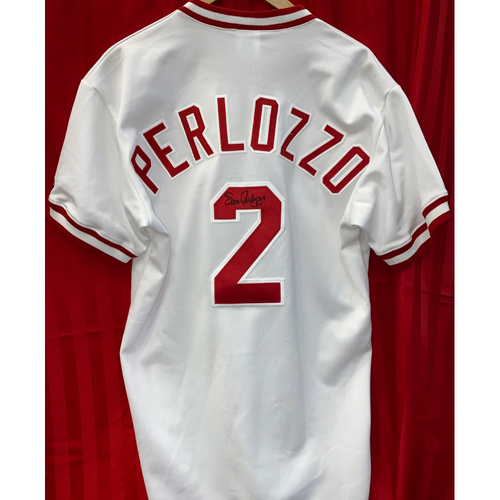 Photo of Sam Perlozzo Signed Jersey
