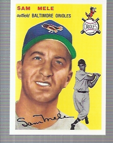 Photo of 1994 Topps Archives '54 #240 Sam Mele