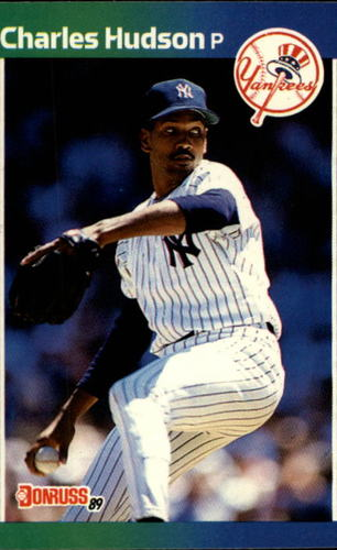 Photo of 1989 Donruss #514 Charles Hudson