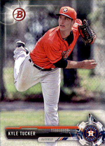 Photo of 2017 Bowman Draft #BD183 Kyle Tucker