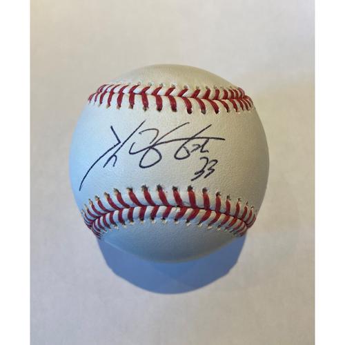 Photo of Cardinals Authentics: Kwang Hyun Kim Autographed Baseball