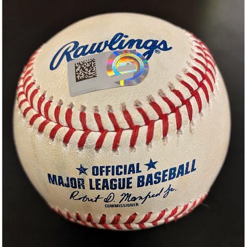 Photo of Whit Merrifield Kansas City Royals Single Baseball (MLB AUTHENTICATED)