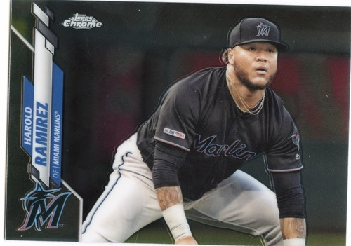 Photo of 2020 Topps Chrome #106 Harold Ramirez