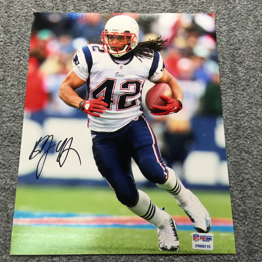 Patriots - Benjarvis Green-Ellis Signed Photo